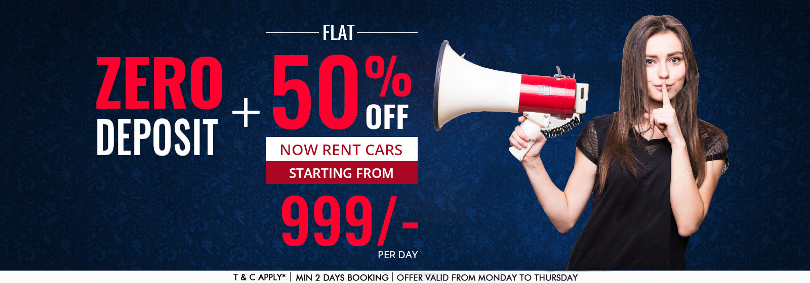selfdrive.in : Daily rental starting from 999/-